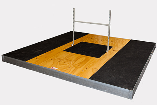 Olympic Performance Platform with Isometric Pull Rig