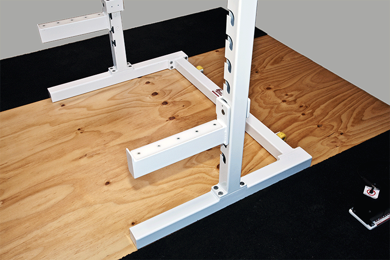 Portable Squat Rack ROM bars